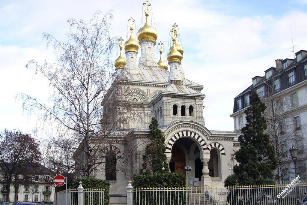 Главный собор в Женеве