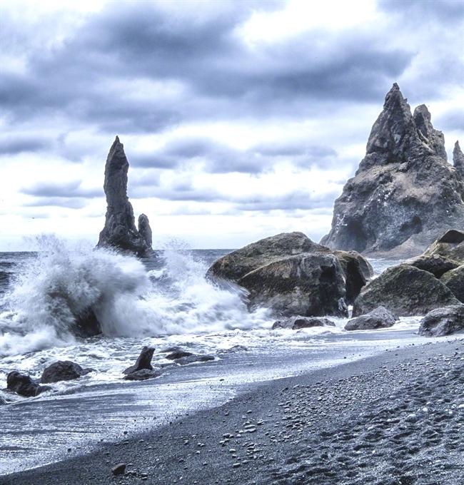 Деревня Вик в Исландии
