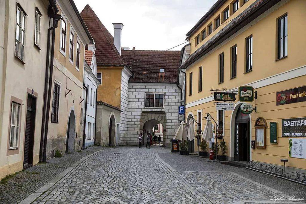 Старинные улочки в Тршебонь