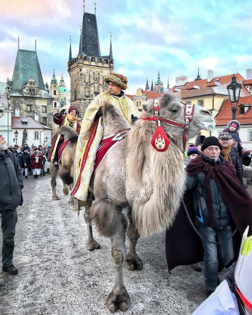 Шествие Трёх Королей — Прага