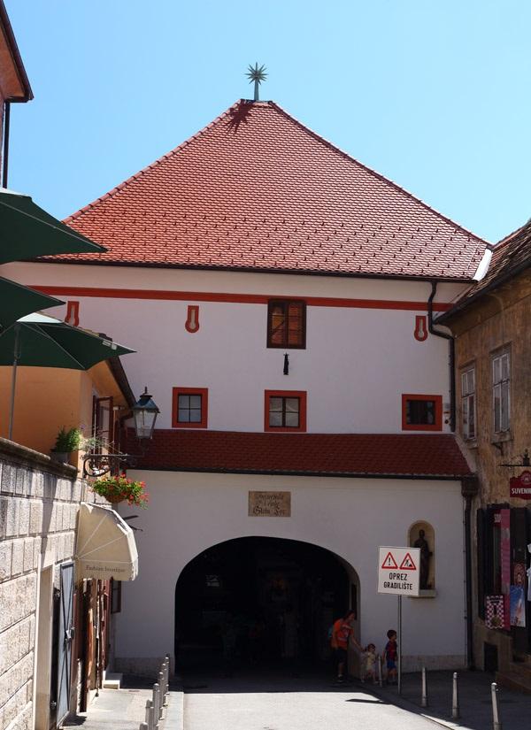 Городские ворота Загреба