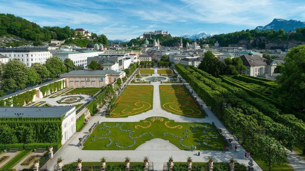 Достопримечательности Зальцбурга: Дворец Мирабель