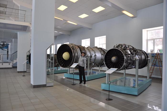 Музей истории авиационного двигателестроения Гатчина