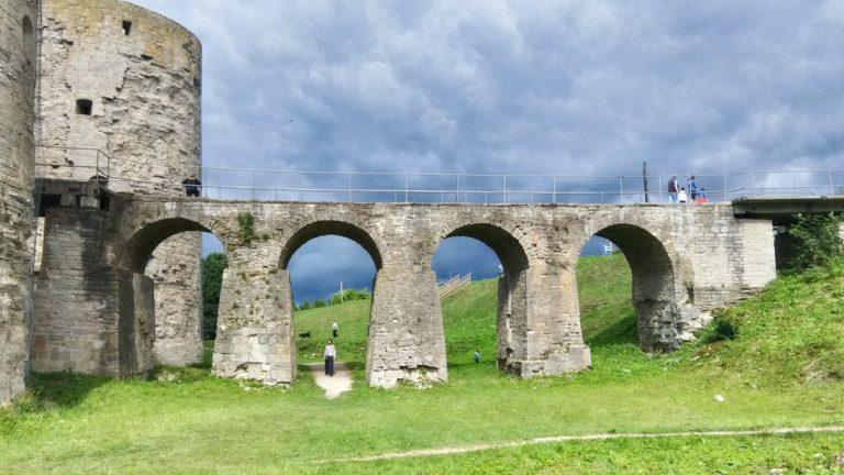 Мост у крепости Копорье