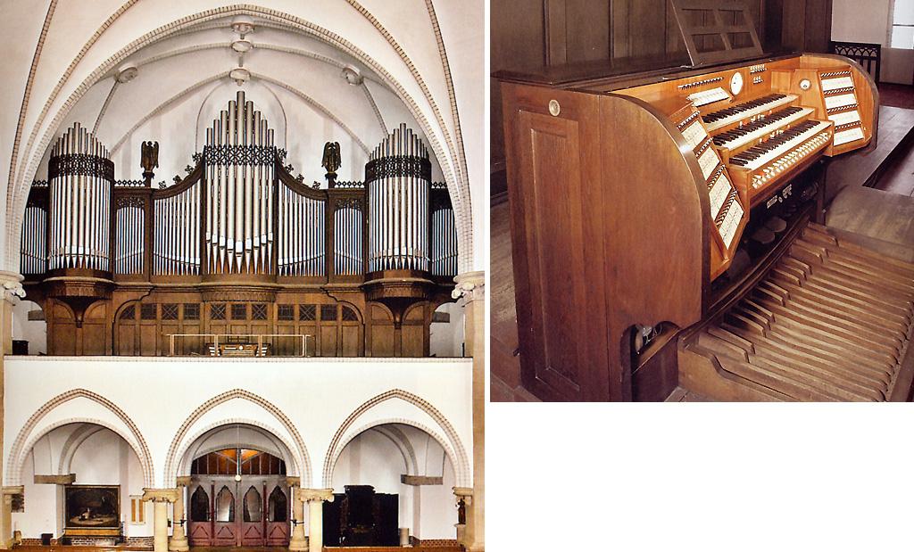 Орган в соборе Святого Мартина