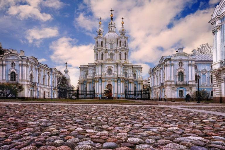 Смольный собор и Александровский институт
