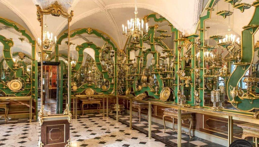 «Зелёные своды» в Дрездене