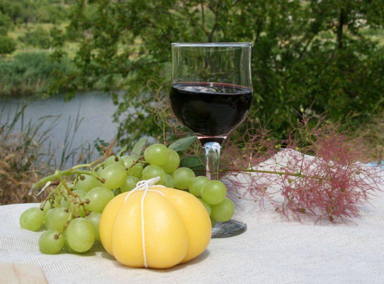 сочетание сыра с вином