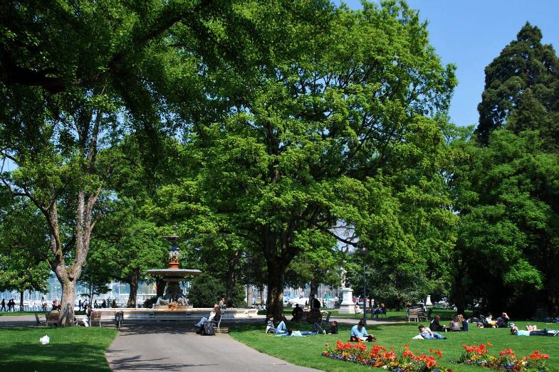 Английский Сад Женева