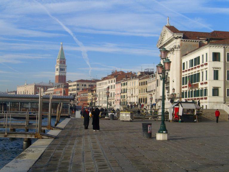 Славянская набережная в Венеции