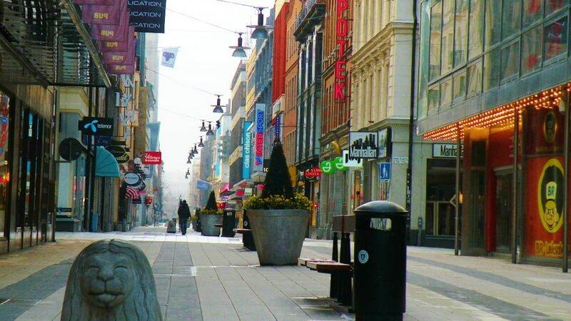 Улица Дроттнинггатан