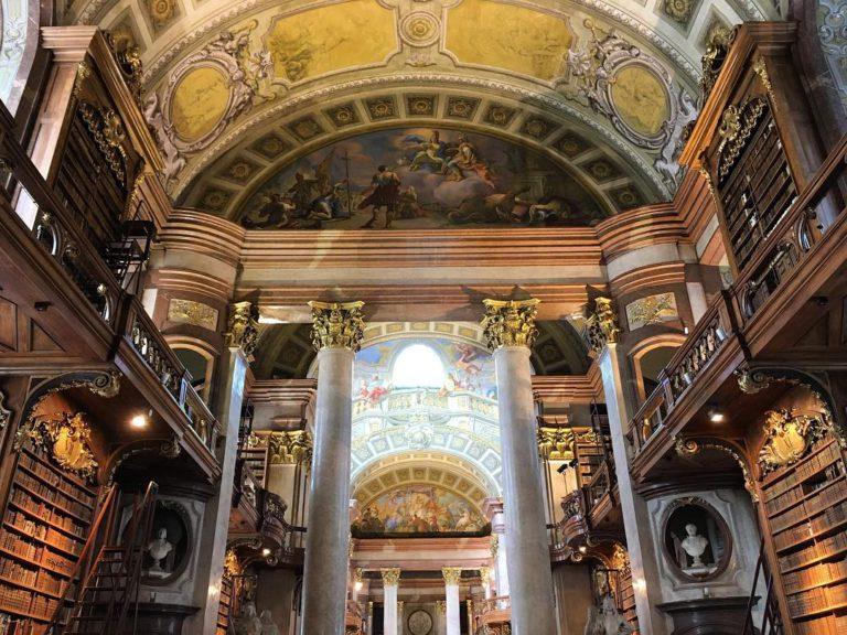 Австрийская Национальная Библиотека в Вене: история, фото