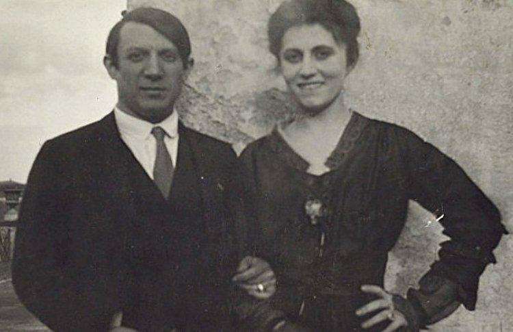 Пабло Пикассо и Ольга Хохлова
