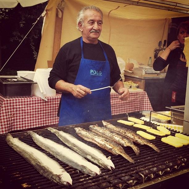 Рыбный рынок в Комаккьо