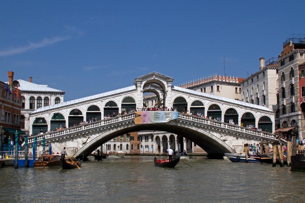 Мост Риальто и Большой канал