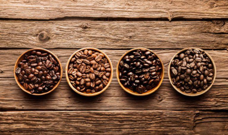 4 вида кофе