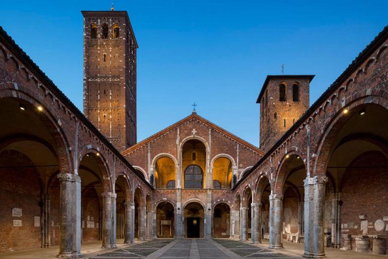 Базилика Св. Амвросия Милан