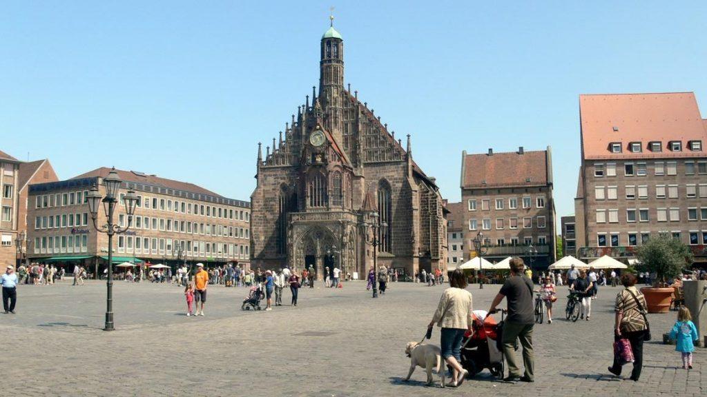 Рыночная площадь Нюрнберг