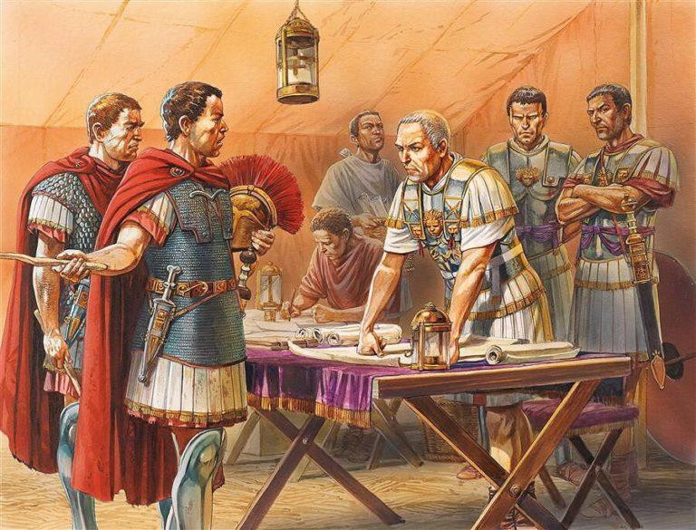 Цезарь в Египте