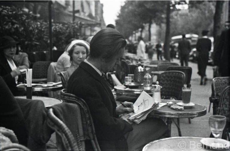 Американцы пьют кофе в 30х годах 20 века