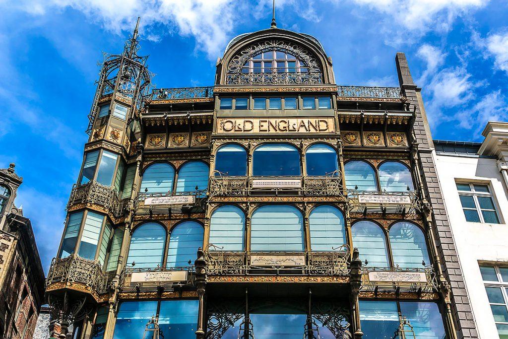 Музей музыкальных инструментов Брюссель