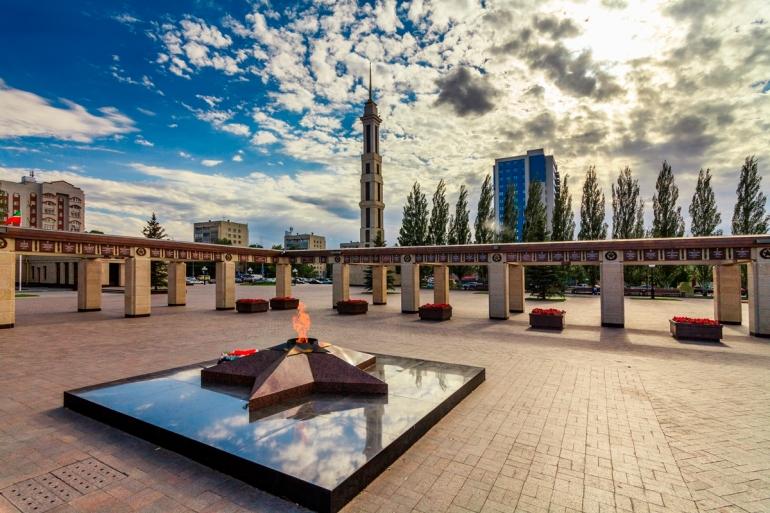 Мемориальный парк Победы Казань