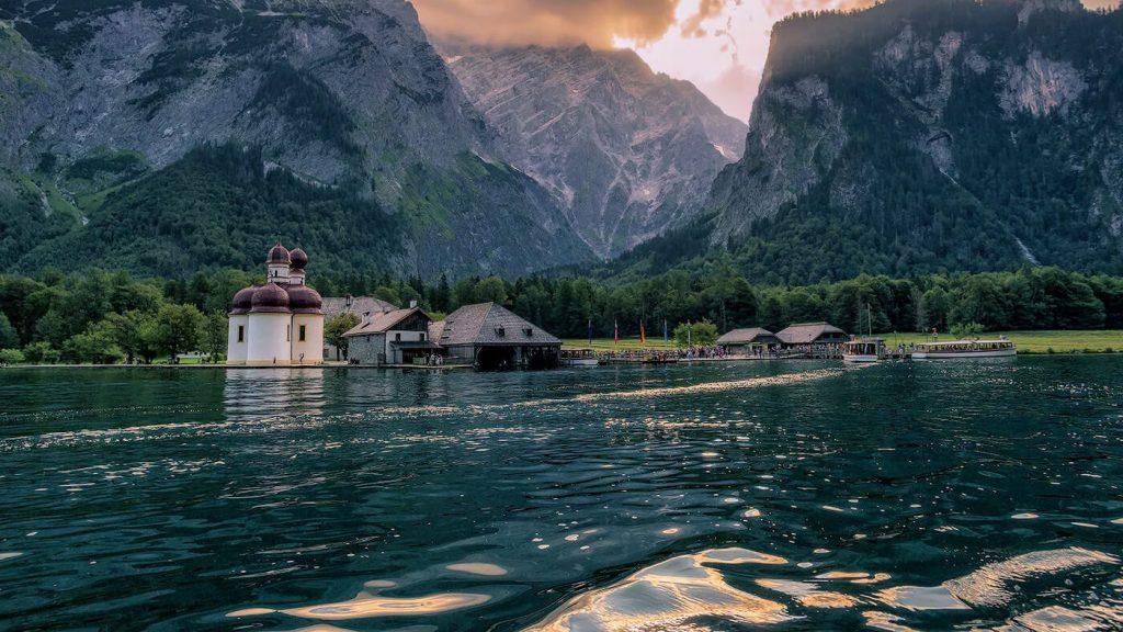 Озеро Кёнигсзе — достопримечательности Германии