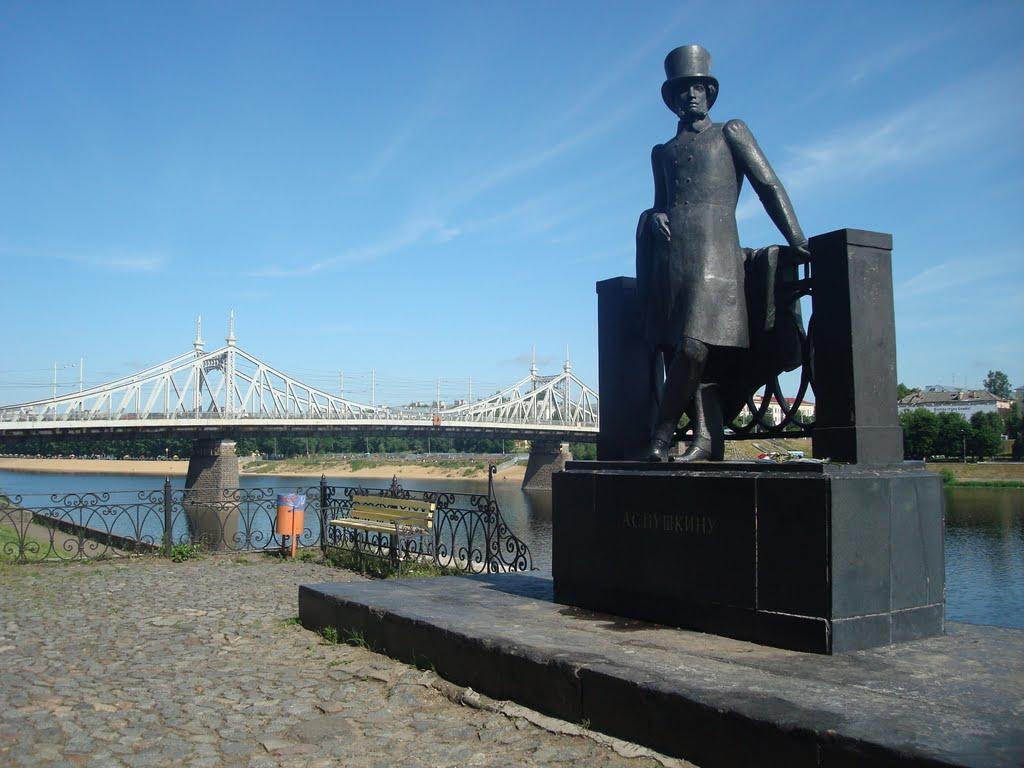 Памятник Александру Сергеевичу Пушкину в Твери