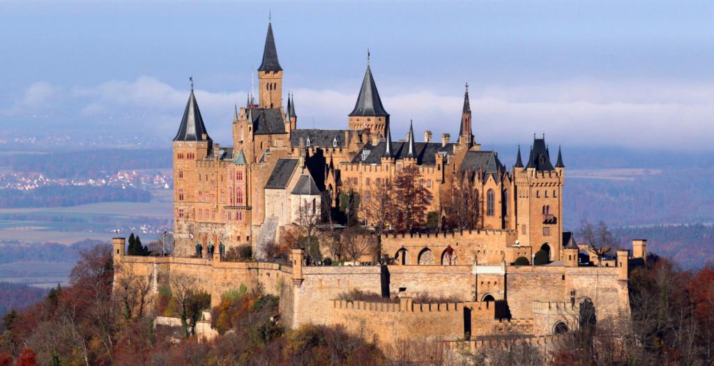 достопримечательности Германии: Замок Гогенцоллерн