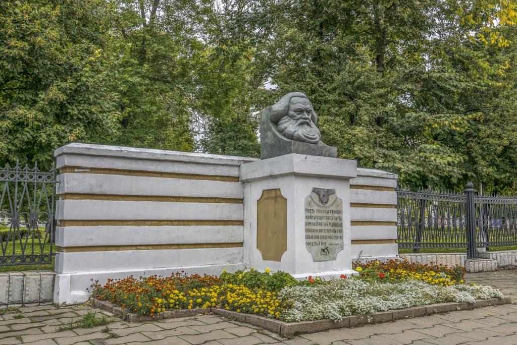 Памятник Карлу Марксу в Твери