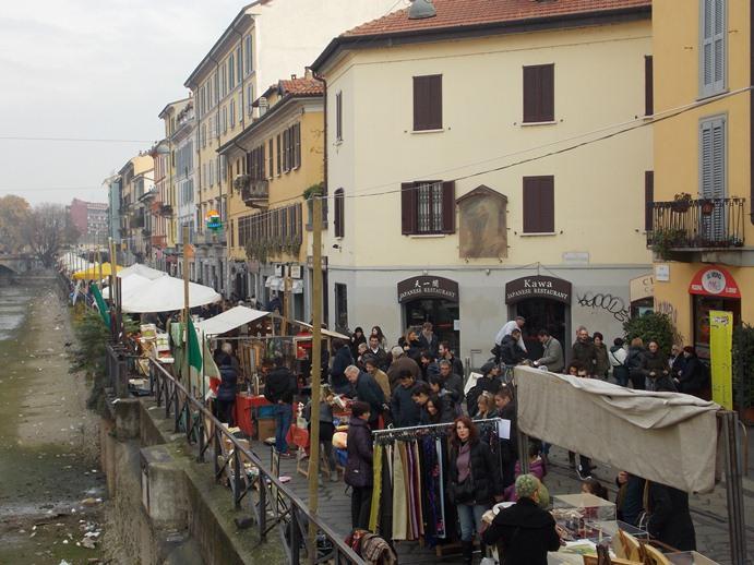 Блошиный рынок в Навильи