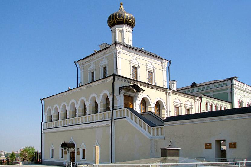 Дворцовая (Введенская) церковь Казань