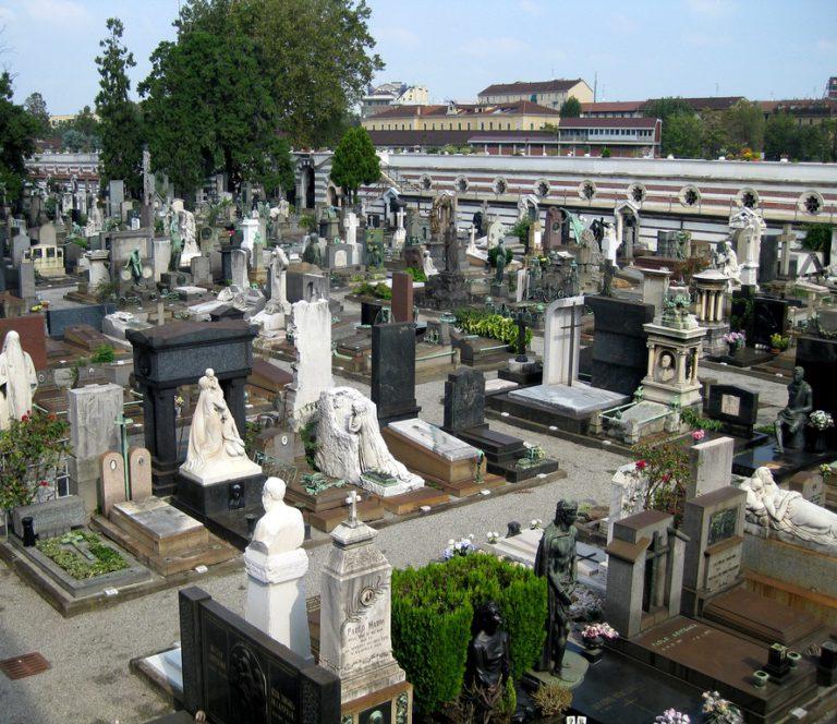 кладбище Милана