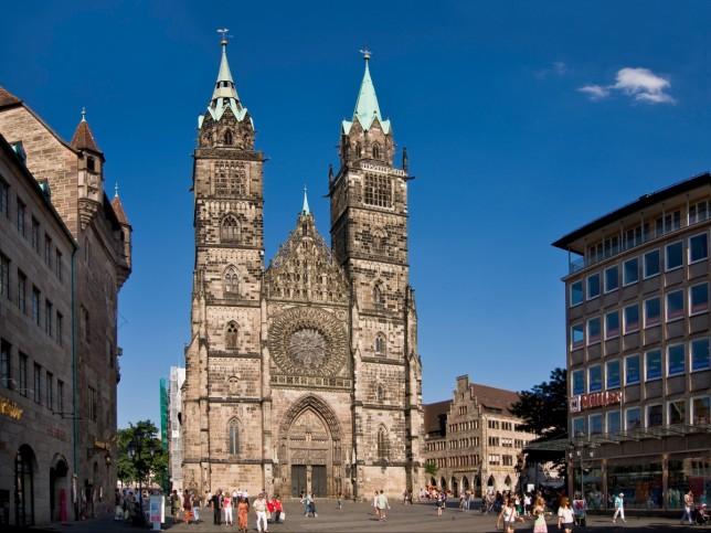 Церковь святого Лаврентия Нюрнберг