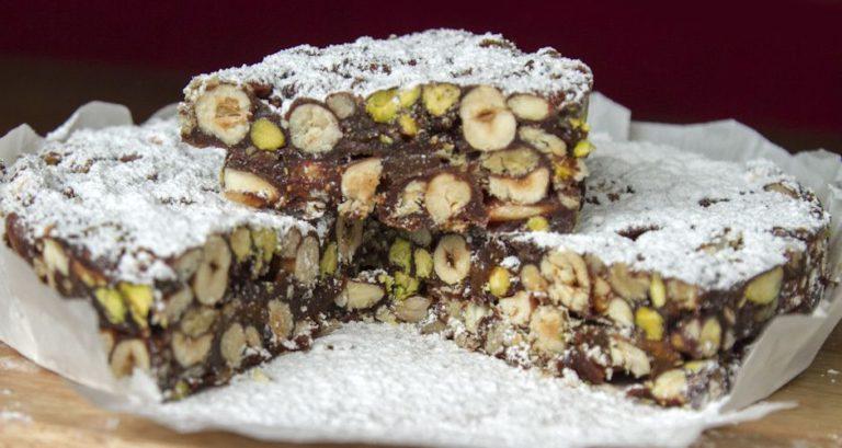 нежный десерт панфорте