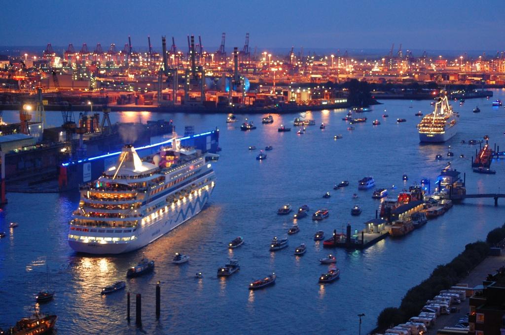 Гамбургский порт — достопримечательности Германии