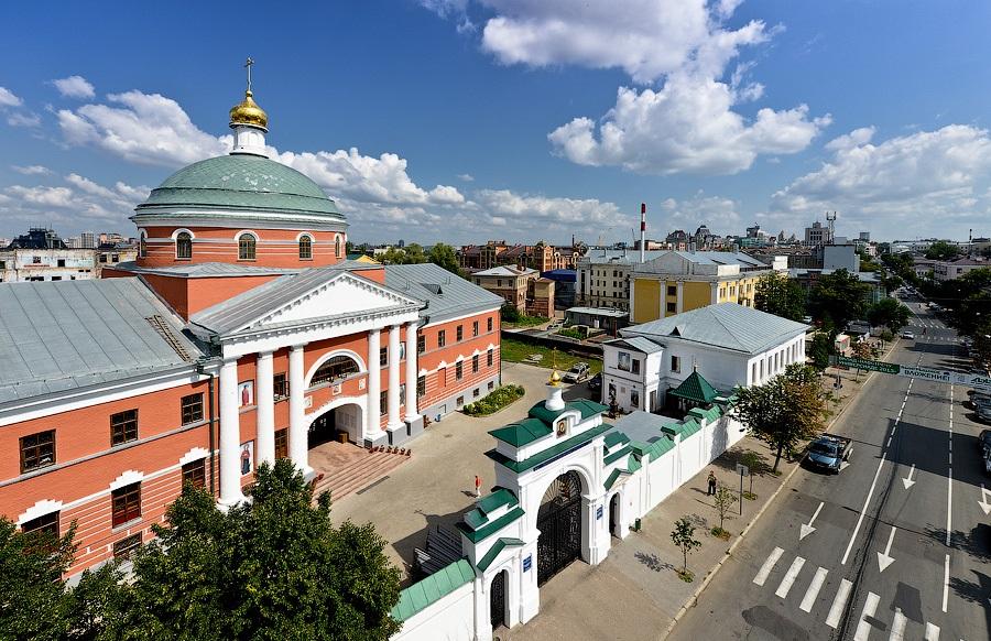 Казанский Богородицкий монастырь Казань