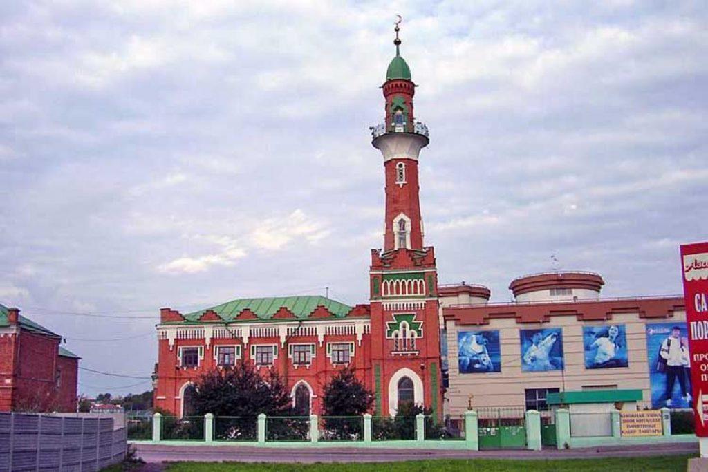 Закабанная мечеть Казань