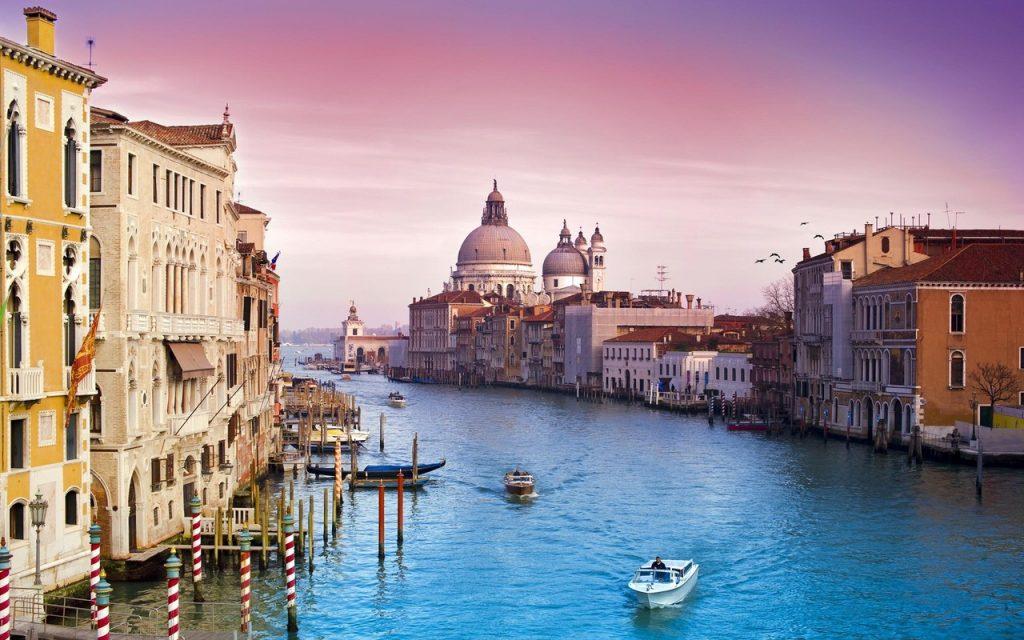 Большой канал Венеция