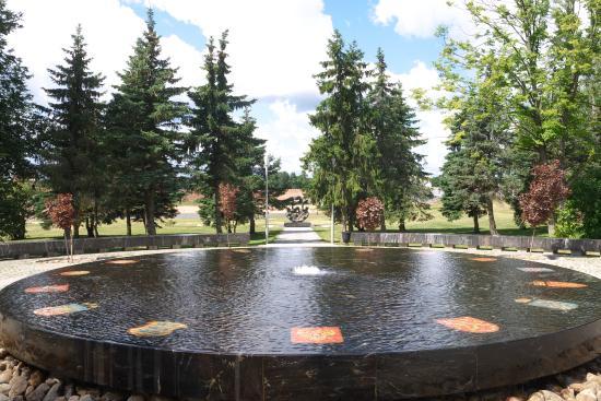 Ганзейский фонтан Великий Новгород