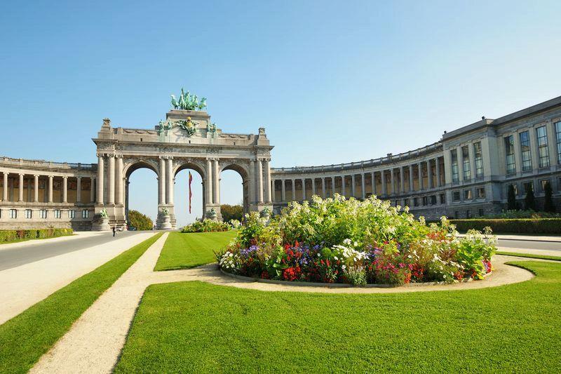 Парк Пятидесятилетия Брюссель