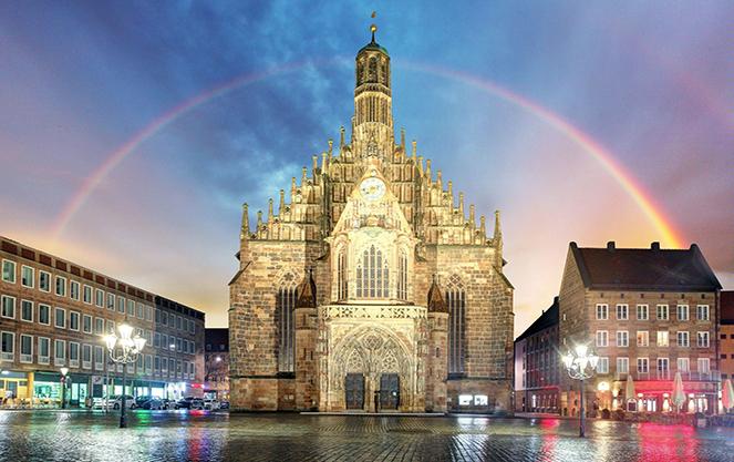 Церковь Девы Марии Нюрнберг