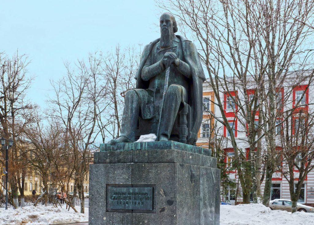 Памятник М.Е. Салтыкову-Щедрину