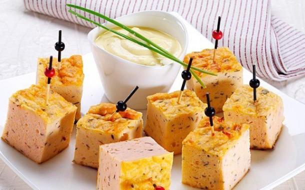 Сабайон для салата с лососем