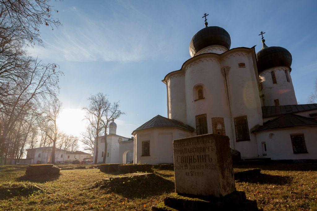 Антониев монастырь Великий Новгород