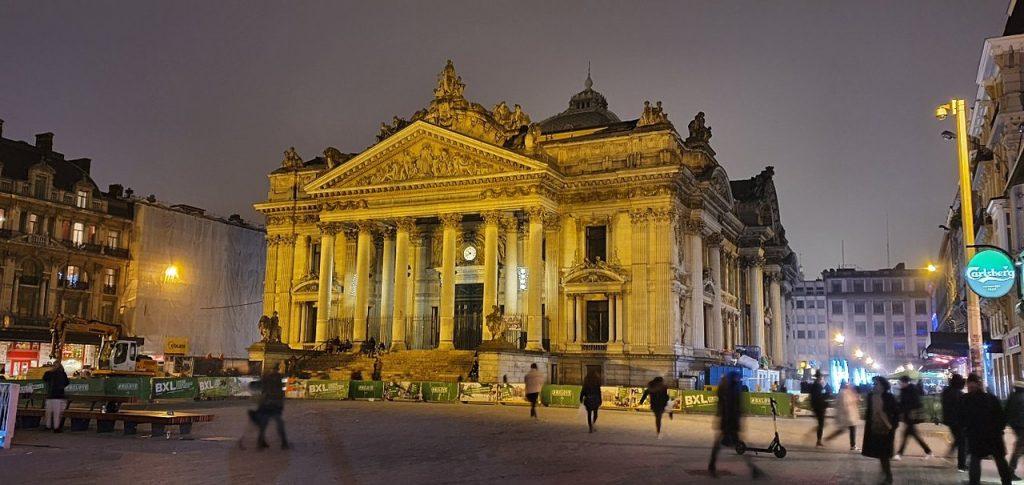 Площадь делла Борса Брюссель