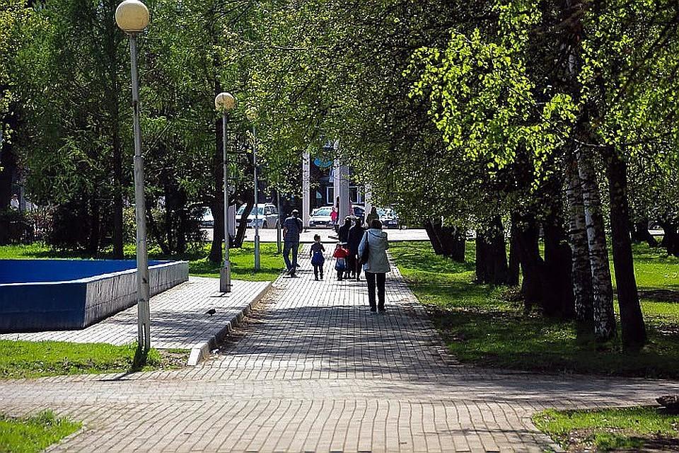 Парк Победы Тверь
