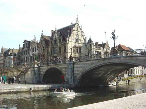 Мост Святого Михаила Гент