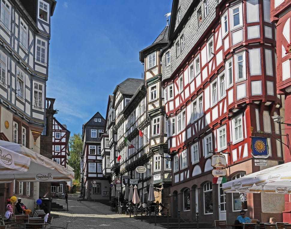 Достопримечательности Германии: Марбург, Баден-Вюртемберг