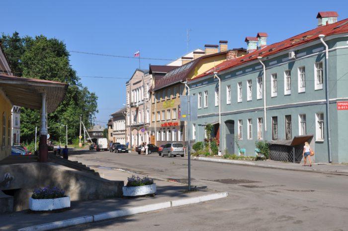 Старинная улица Шлиссельбурга